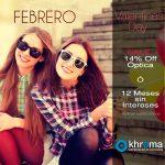 Promociones mes de febrero