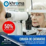 Cirugía de Cataratas 50% de descuento